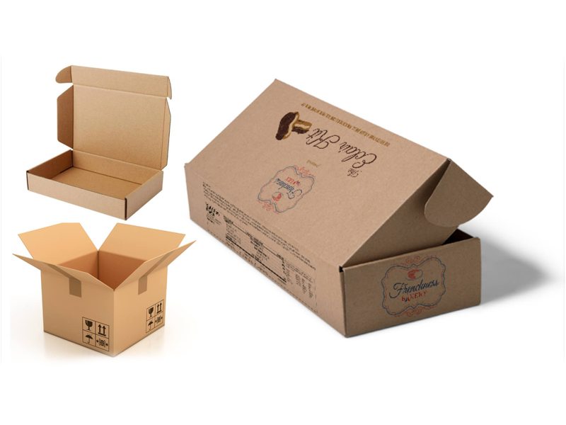 Folding boxes packaging